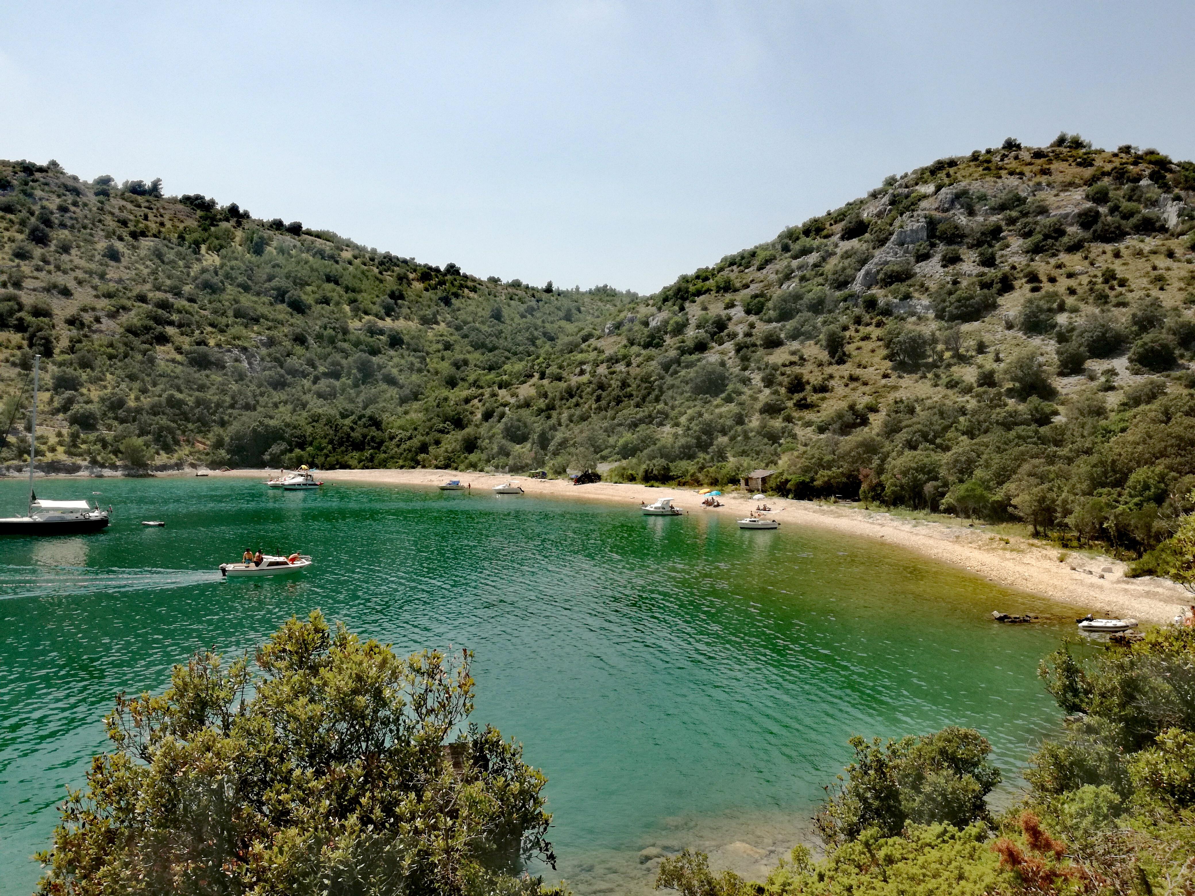 Croatia Istria County seaside