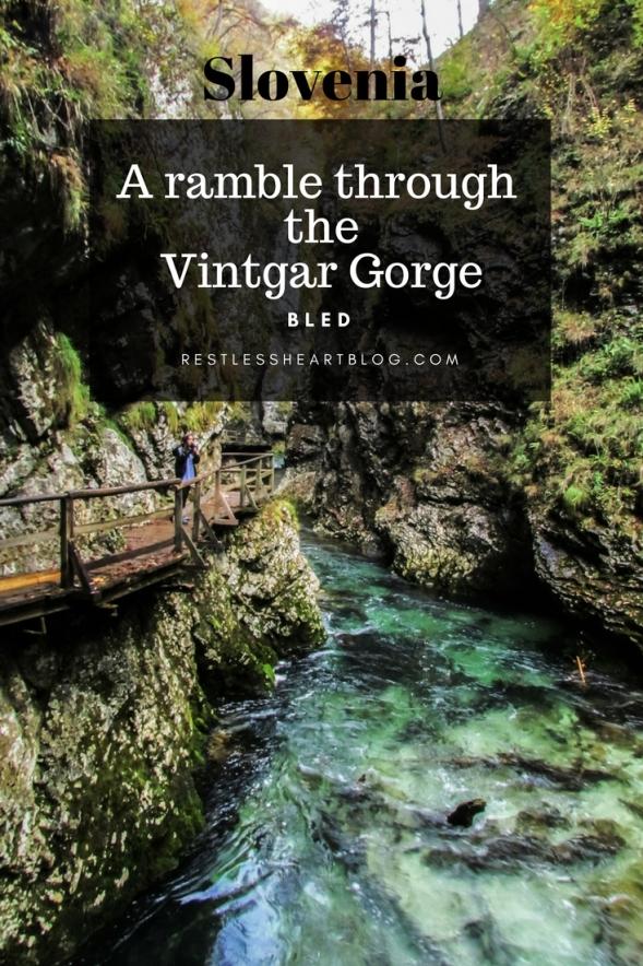 Slovenia Vintgar Gorge Bled