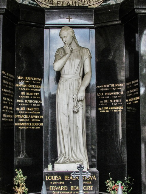 Prague alchemy Višegrad cemetery