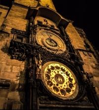 Prague astronomical clock alchemy