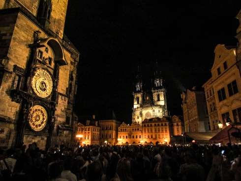 Prague astronomical clock alchemy